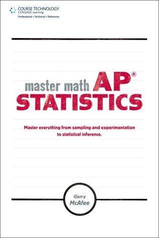 Master Math: AP Statistics, 1st Edition Gerry McAfee