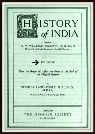 History of India V4  by  Stanley Lane-Poole