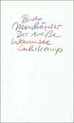 Der weiße Wannsee: Ein Rausch Bodo Morshäuser