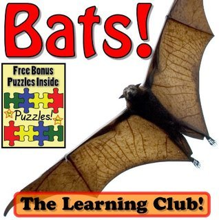 Bats! Learn About Bats And Learn To Read - The Learning Club! (45+ Photos of Bats)  by  Leah Ledos