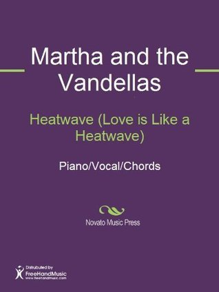 Heatwave (Love is Like a Heatwave) Sheet Music (Piano/Vocal/Chords)  by  Brian Holland