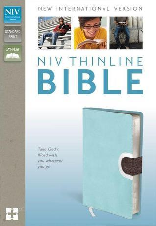 Thinline Bible-NIV-Magnetic Closure  by  Anonymous