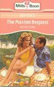 The Maxton Bequest  by  Alison York