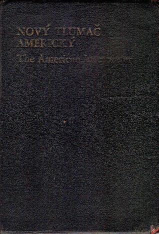 Nový tlumač americký  by  Karel Jonáš