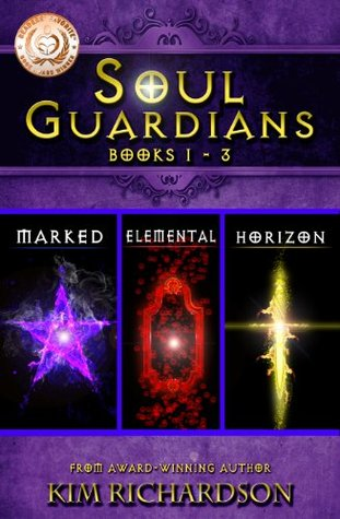 Soul Guardians 3-Book Collection: Marked #1, Elemental #2, Horizon #3  by  Kim Richardson