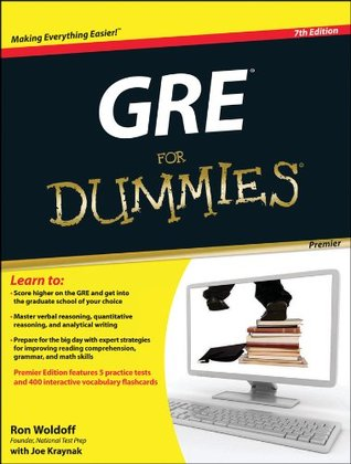 GRE For Dummies Ron Woldoff