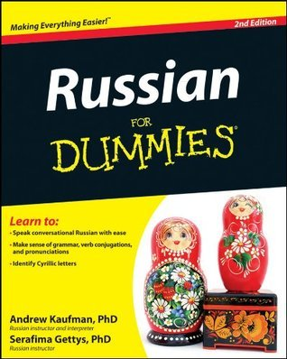 Russian For Dummies  by  Andrew D. Kaufman