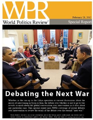 Debating the Next War  by  Politics Review, World