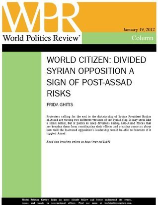Divided Syrian Opposition a Sign of Post-Assad Risks  by  Politics Review, World