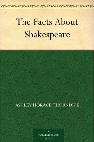 The Facts About Shakespeare William Allan Neilson