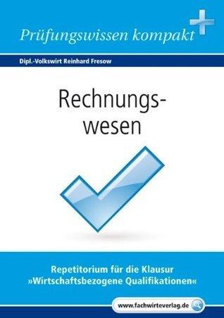 Rechnungswesen  by  Reinhard Fresow