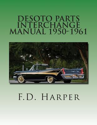 Desoto Parts Interchange Manual 1950-1961  by  F D Harper