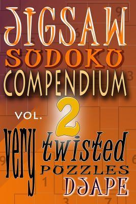 Jigsaw Sudoku Compendium volume 2: very twisted puzzles  by  djape