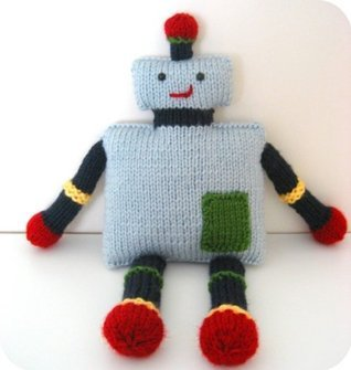 Robot Knit Pattern  by  Amy Gaines