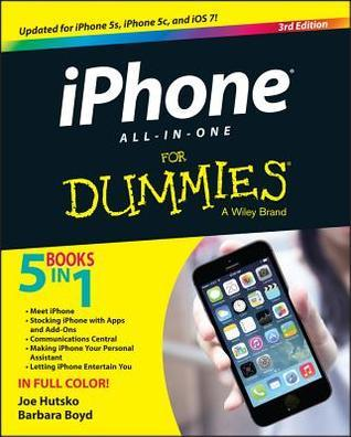 iPhone All-In-One for Dummies Joe Hutsko