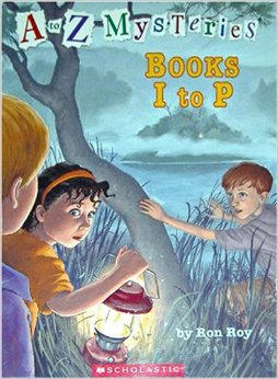 A To Z Mysteries: Books I-P [Box Set]  by  Ron Roy