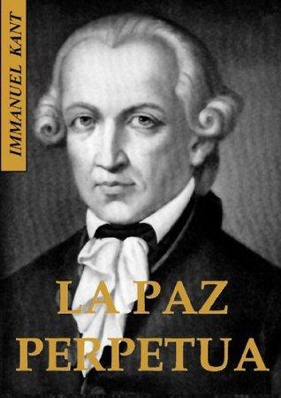 La paz  perpetua  by  Immanuel Kant