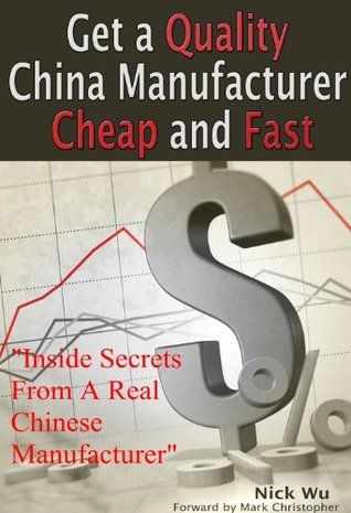 Get a Quality China Manufacturer Cheap and Fast Nick Wu