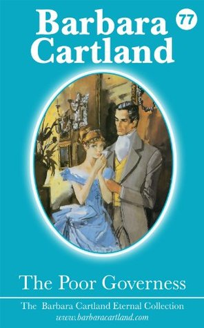 77. The Poor Governess  by  Barbara Cartland