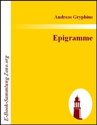 Epigramme Andreas Gryphius