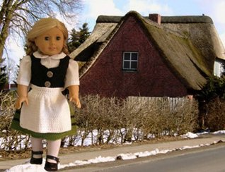 German Costume Knitting Pattern for 18 inch dolls Ase Bence