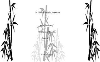 In the Style of the Japanese A collection of Haiku and Tanka Poetry  by  Kenneth Kitlarz
