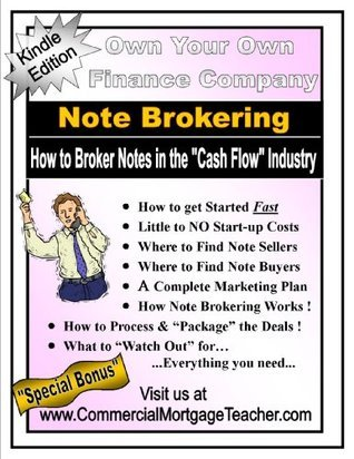 Note Brokering Commercial Mortgage Teacher