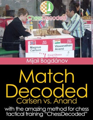 Chess Tactics Match Carlsen vs Anand Decoded - The Best Tactics Training to Improve in chess Mijail Bogdánov
