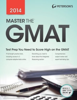 Master the GMAT 2014  by  Petersons