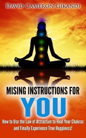 The Missing Instructions for YOU - How to Use the Law of Attraction to Heal Your Chakras and Finally Experience True Happiness!  by  David Cameron Gikandi