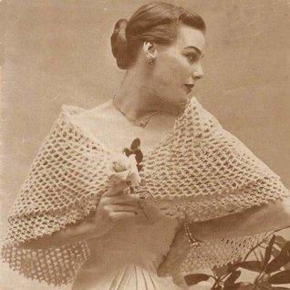 Circular Shawl Stole Crochet Pattern  by  Charlie Cat Patterns