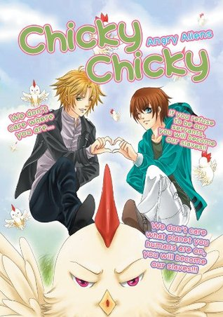 Chicky Angry Aliens: Funny aliens manga book  by  Zeren Zarviiolar