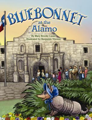 Bluebonnet at the Alamo  by  Mary Brooke Casad