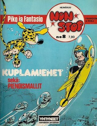 Kuplamiehet (Piko ja Fantasio, #18)  by  André Franquin