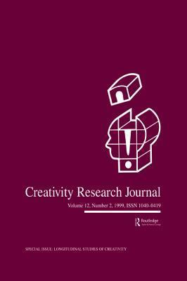 Longitudinal Studies of Creativity: A Special Issue of Creativity Research Journal Mark A. Runco
