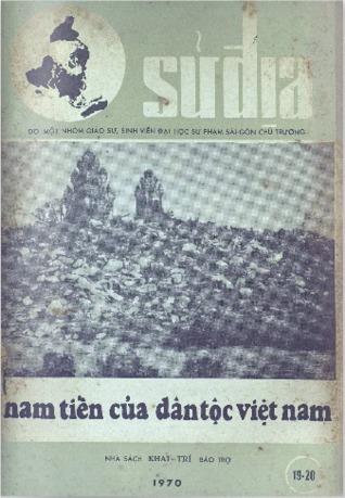 Nam tiến của dân tộc Việt Nam (Tập san Sử Địa, số 19-20)  by  Đại học Sư phạm Sài Gòn