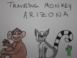 Traveling Monkey in Arizona  by  Holly Linds