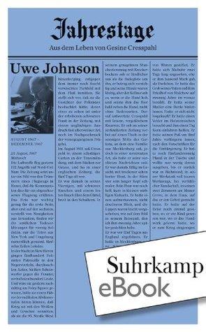 Jahrestage 1: Aus dem Leben von Gesine Cresspahl (suhrkamp taschenbuch)  by  Uwe Johnson
