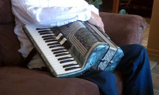 The Accordion  by  Susan Parrish