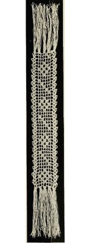 Jewel Book Mark. Vintage Crochet Pattern [Annotated]  by  Unknown