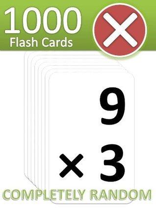 1000 Multiplication Flash Cards  by  FatMath