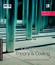 Information Theory & Coding Book  by  Arti Agarwal