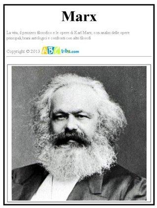 Marx. La vita, il pensiero e le opere.  by  Roberto Tassino