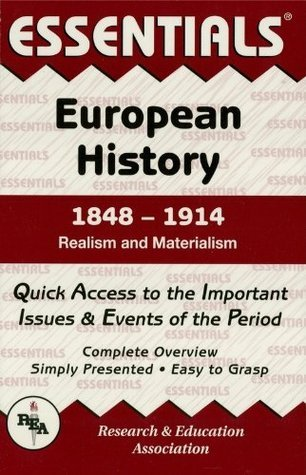 European History: 1848 to 1914 Essentials  by  William T. Walker