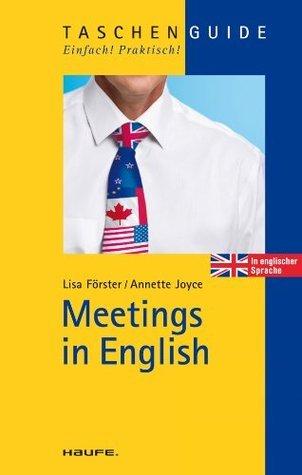 Meetings in English: TaschenGuide Lisa Förster