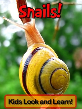 Snails! Learn About Snails and Enjoy Colorful Pictures - Look and Learn! (50+ Photos of Snails)  by  Becky Wolff