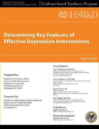 Determining Key Features of Effective Depression Interventions Veterans Health Administration