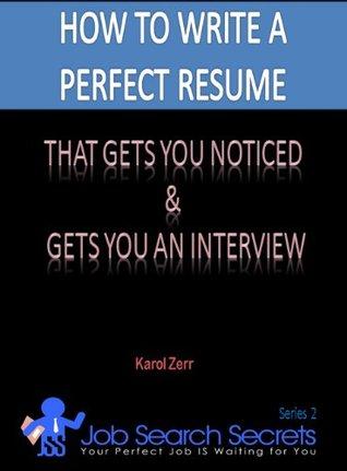 GET A JOB! Karol Zerr