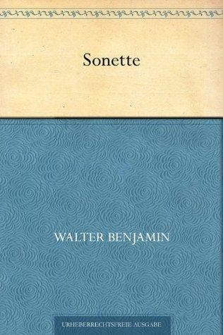Sonette Walter Benjamin