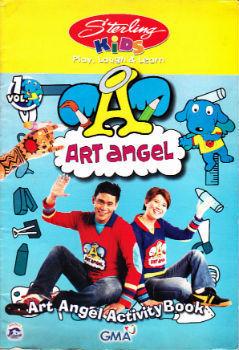Art Angel Activity Book  by  Augie Rivera
